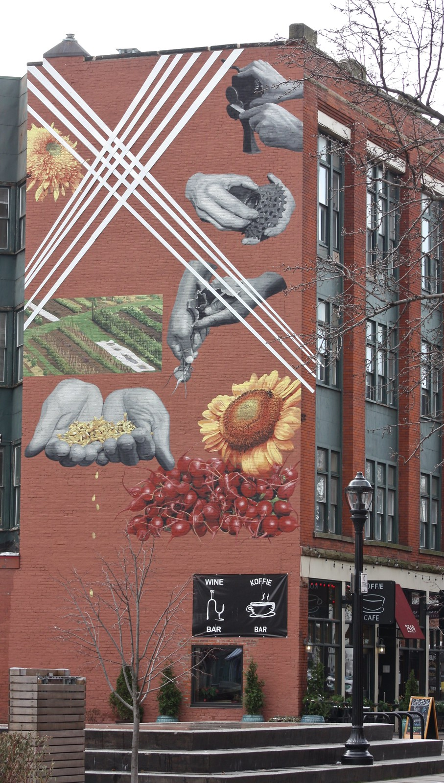West Side Mural