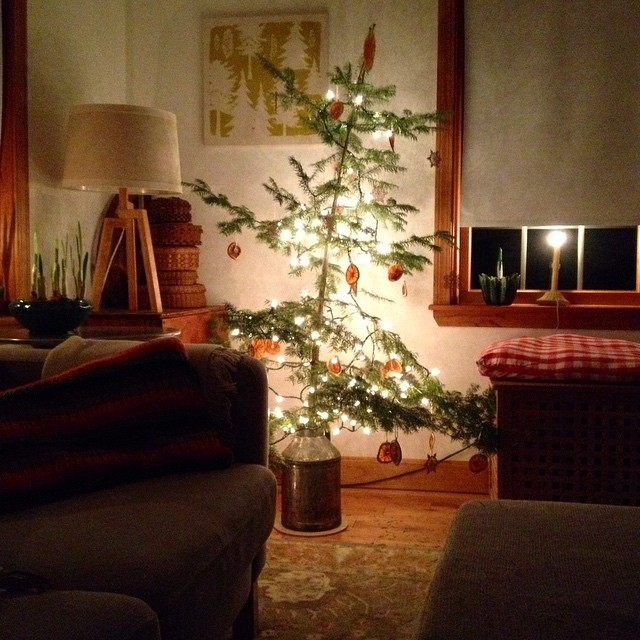 One little solstice tree... #yule #yuletide #solstice