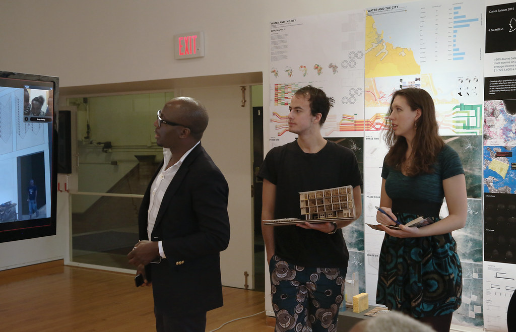 Option studio review: Water and the City, in the John Hartell Gallery.