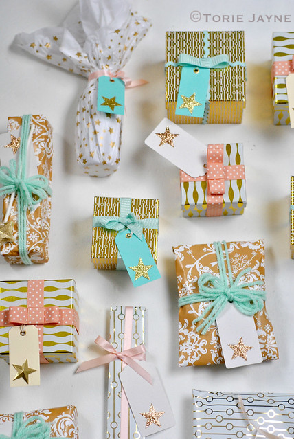 Christmas gifts wrapped