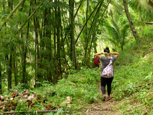Hiking to Pampam Falls and Kalubihon Falls in Iligan City, Philippines
