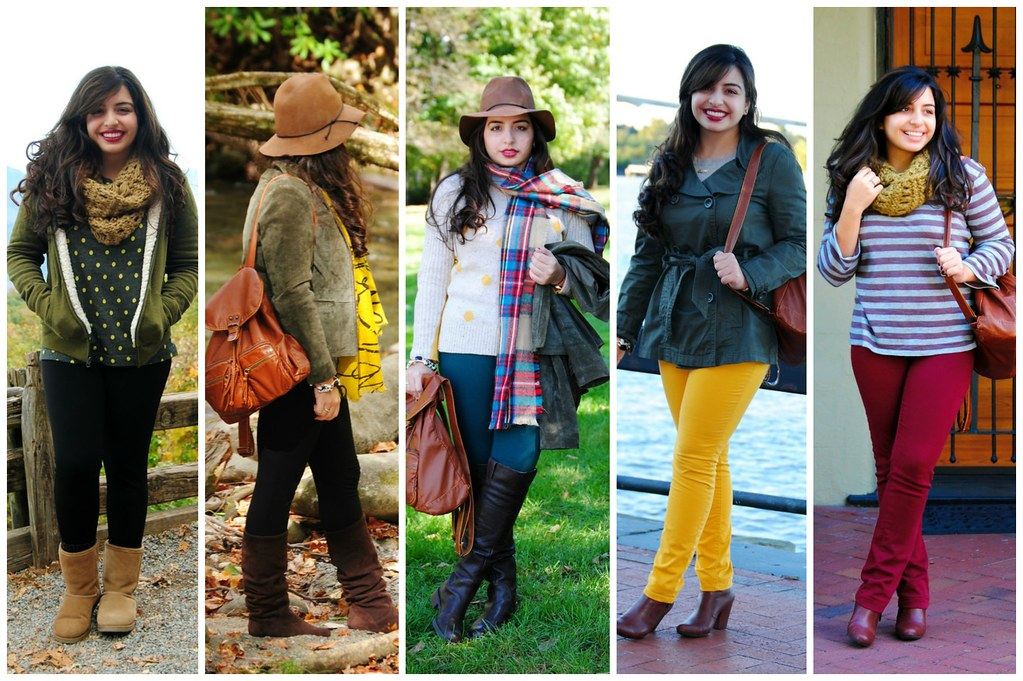 November fall travel outfits