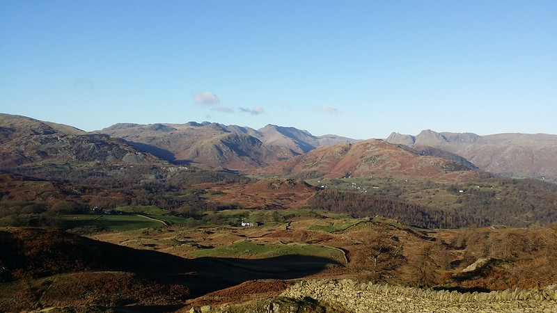 Langdales from Black Fell #sh