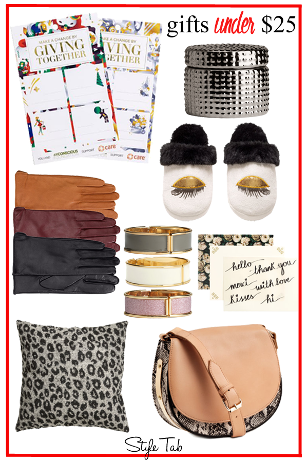 HM, gifts under $25, gift guide