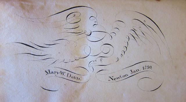 christmas annuals token inscription mary davis