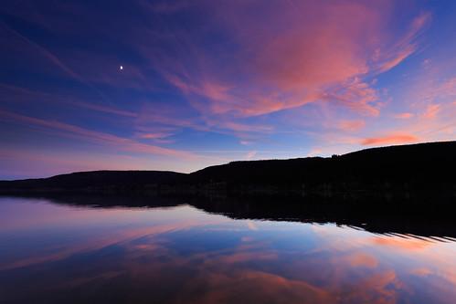 autumn moon lake black mountains reflection night forest germany baden schwarzwald schluchsee aha badenwurttemberg hochschwarzwald wurttemberg hitechfilters hiechndgrad06hard