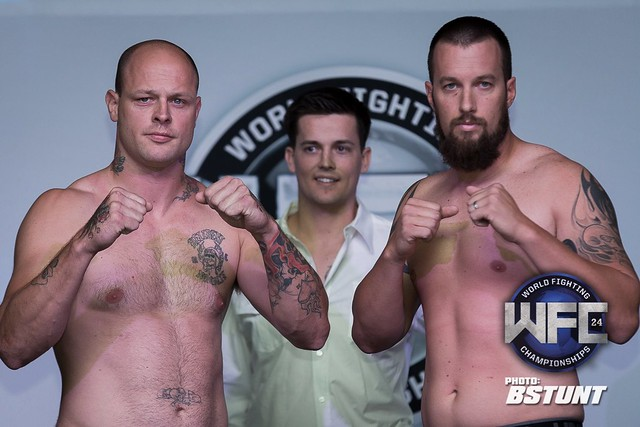 WFC 24 Weigh-Ins June 27th,2014 at GSR