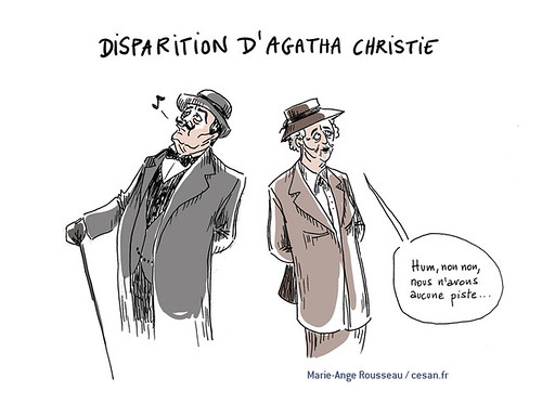 En 1926, Agatha Christie mettait en scène sa disparition, par Marie-Ange Rousseau