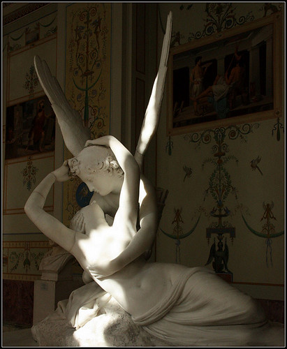 Amor and Psyche by Antonio Canova , Hermitage, St. Petersburg