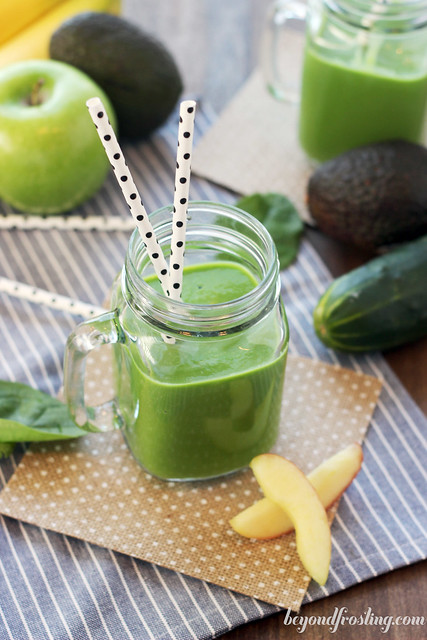 Make Ahead Green Juice Smoothies. If you don't have time to make a smoothie everyday, don't worry! This makes 4 servings!