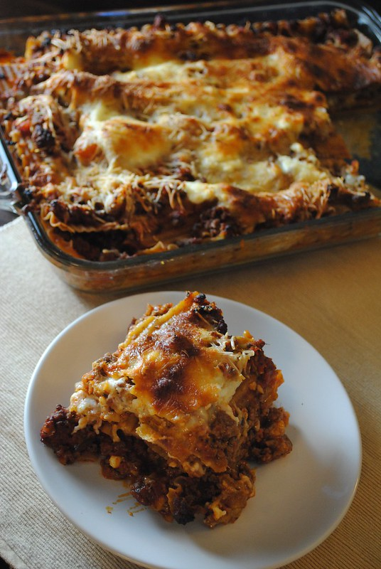 Garfield-Worthy Three Cheese Lasagna