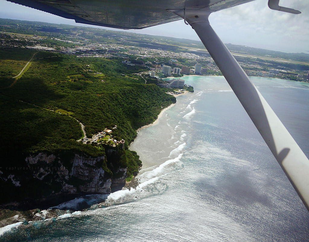 Trip to Guam-- From the air