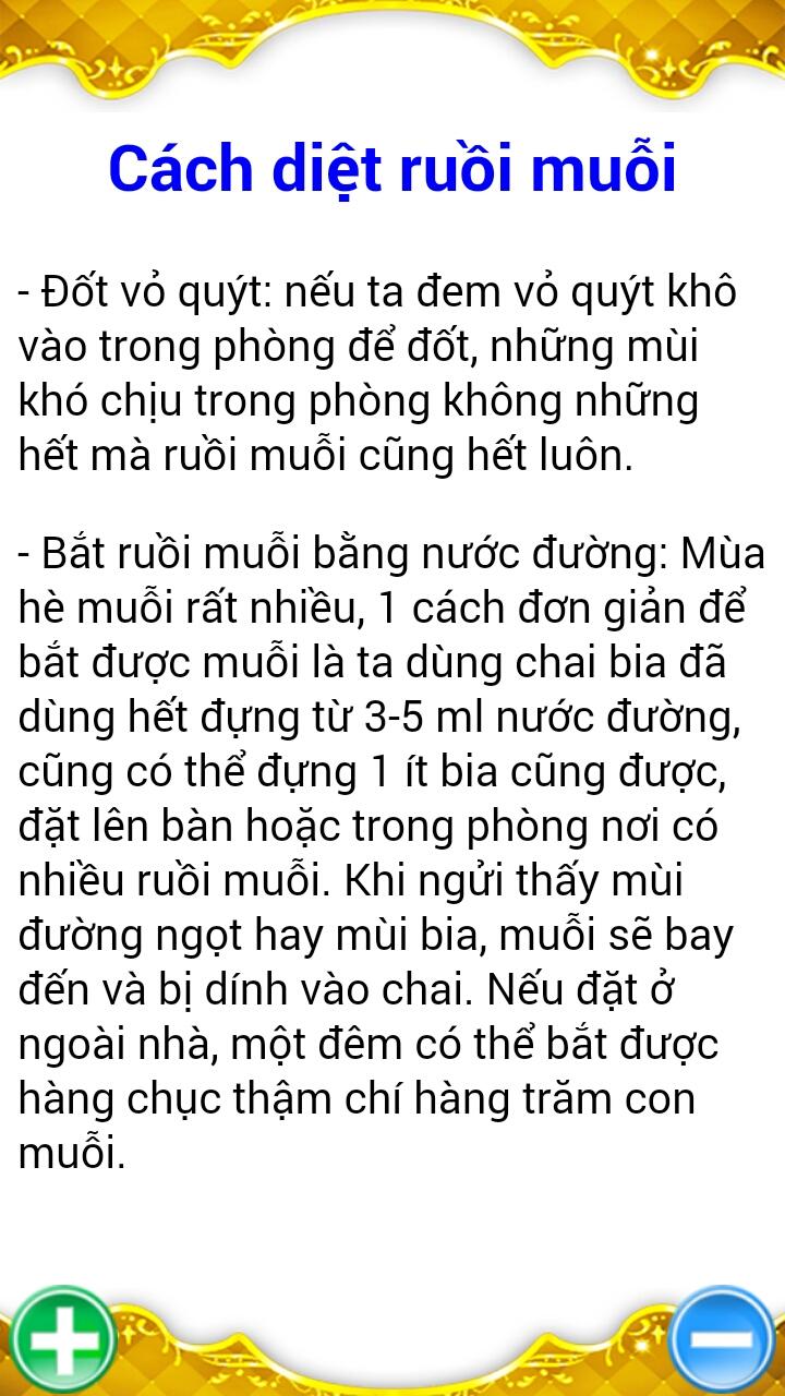 Trừ Ruồi Muỗi Diệt Chuột 16952 - Trừ Ruồi Muỗi Diệt Chuột - Mẹo Vệ Sinh Gia Đình