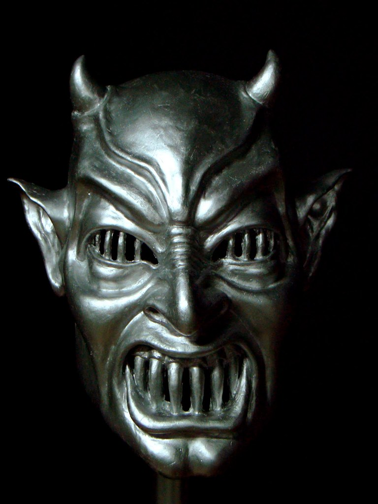 Metal Devil Mask