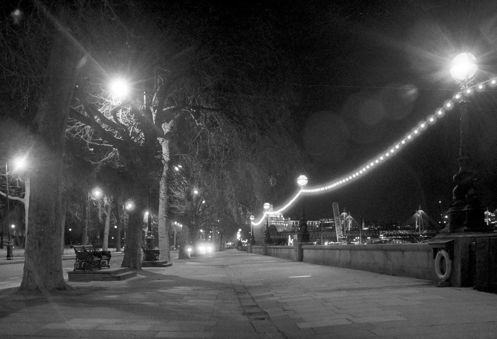 Embankment by Night