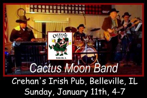 Cactus Moon Band 1-11-15