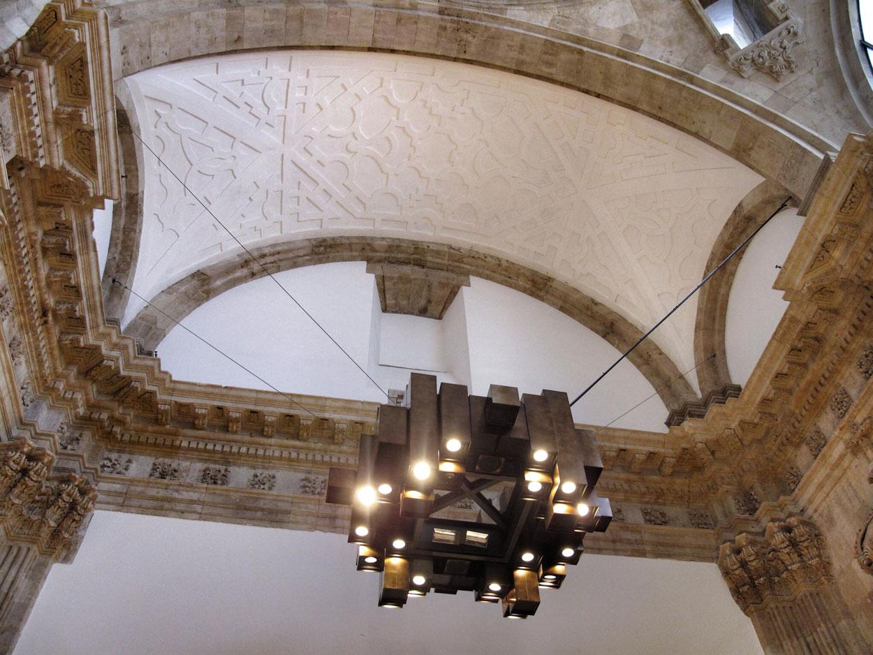 zara salmanca_convento_san antonio el real_cupula_transepto