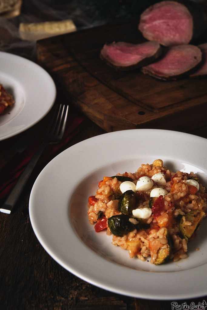 Oven Roasted Fall Veggie Risotto