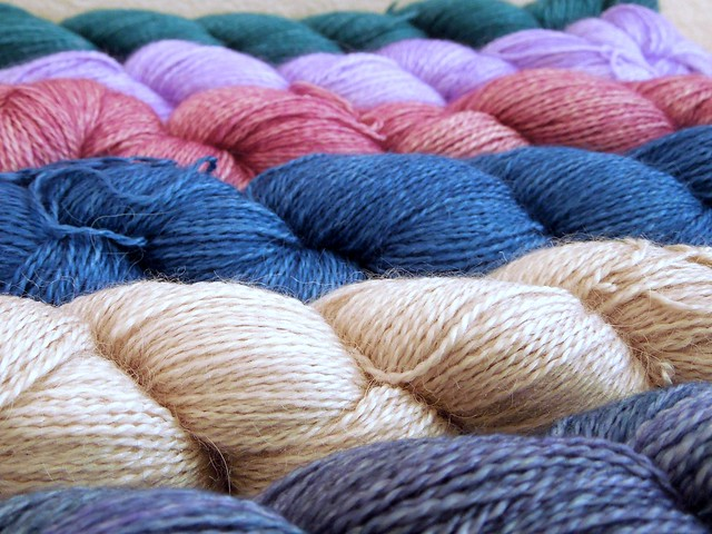 Malabrigo Silkpaca. Available in Greece only at Plectorium in Larisa.