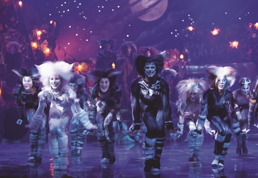 Have you ever seen a tribe of Jellicle cats capering in front of a Jellicle moon, at the Jellicle Ball?