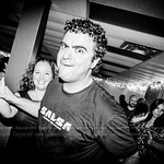 Montreal best face ever in salsa dacing :) Party on! This is actually a practice night at Baila Productions.