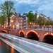 Traffic in Amsterdam Canals by Loïc Lagarde