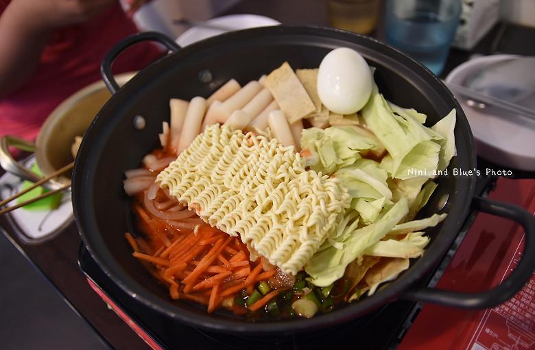 台中韓式料理一中街求求辣年糕菜單價位17