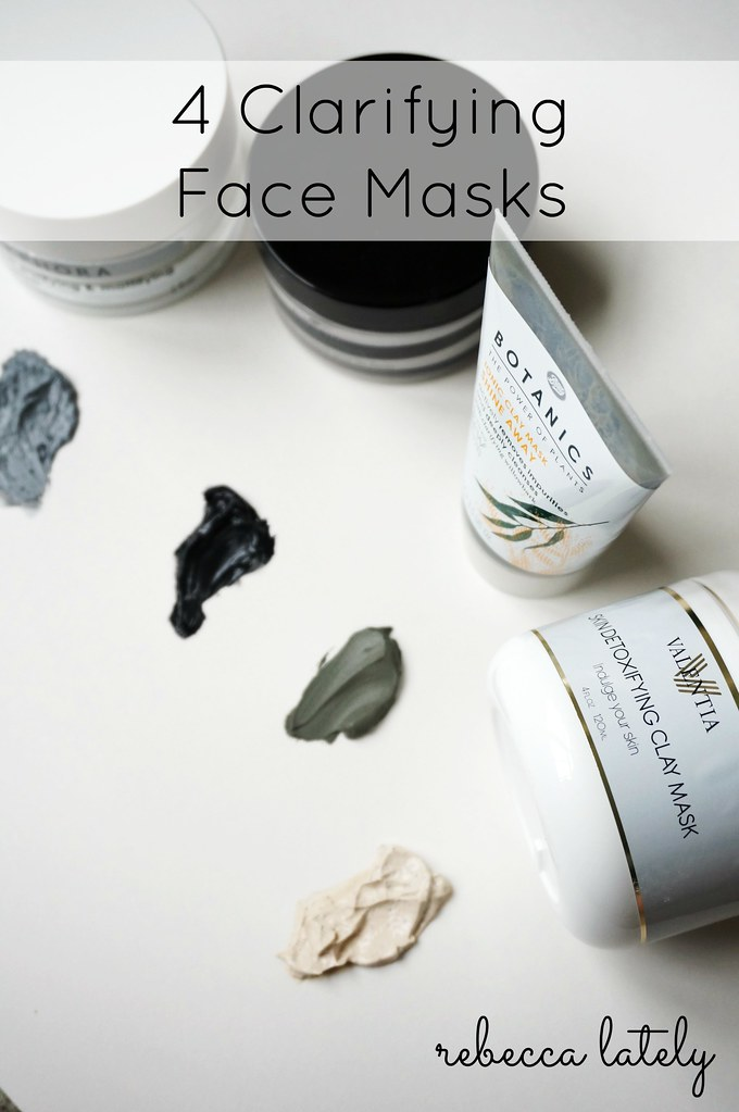 Rebecca Lately Clarifying Face Masks