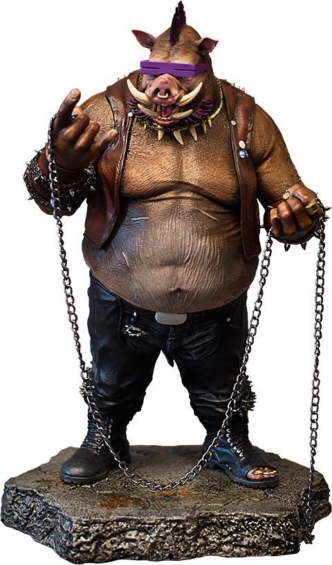 Vault Productions 忍者龜:破影而出【比巴】Bebop 1/5 比例全身雕像作品