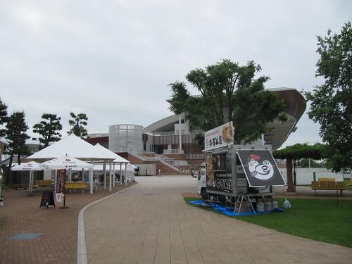 函館競馬場の風の広場