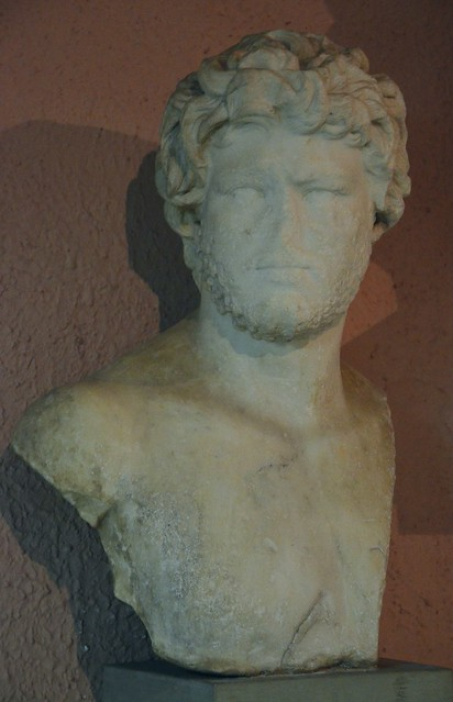 Bust of Caracalla, from Apollonia, Archaeological Museum of Tirana, Albania