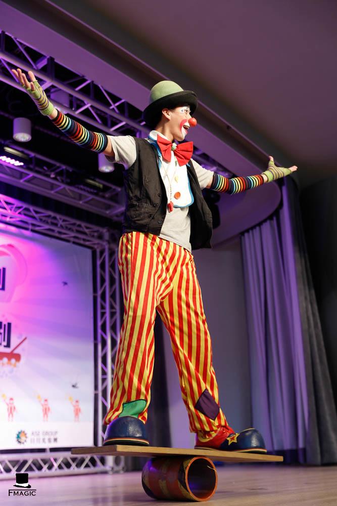 記者會魔術表演、特技表演、雜耍表演、小丑表演、氣球表演-高雄草衙道20160702