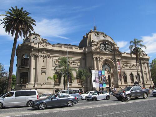 Santiago: le musée des Beaux-Arts