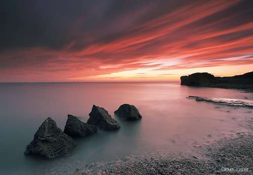 uk longexposure seascape dawn coast north coastal northern northeast southshields trowpoint steveclasper