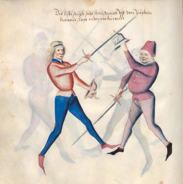 010-Kal Paulus Fechtbuch gewidmet dem Pfalzgrafen Ludwig- BSB Cgm 1507- Bayerische StaatsBibliotehek