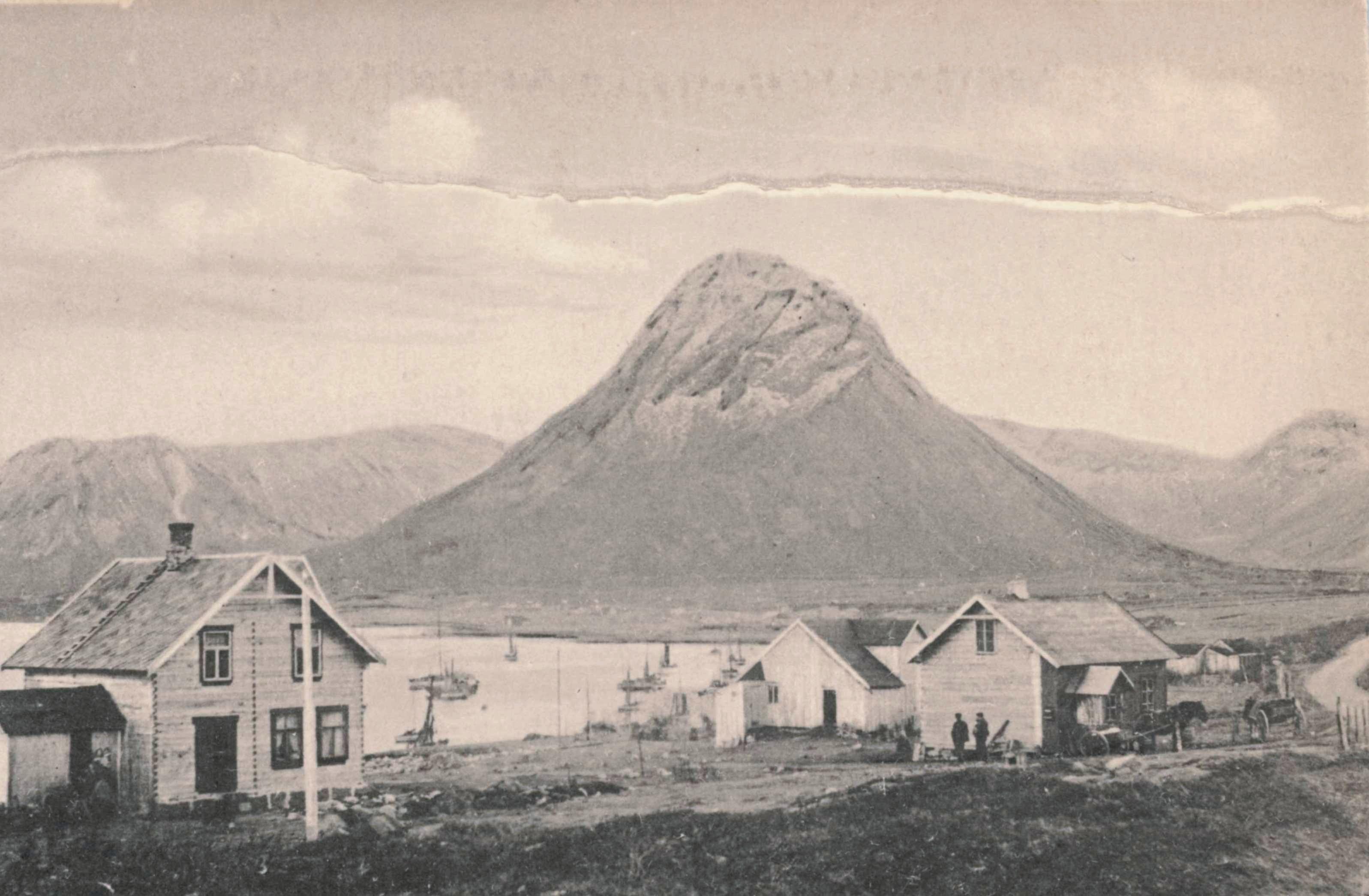 Stålberget, Hadsel kommune i Nordland.