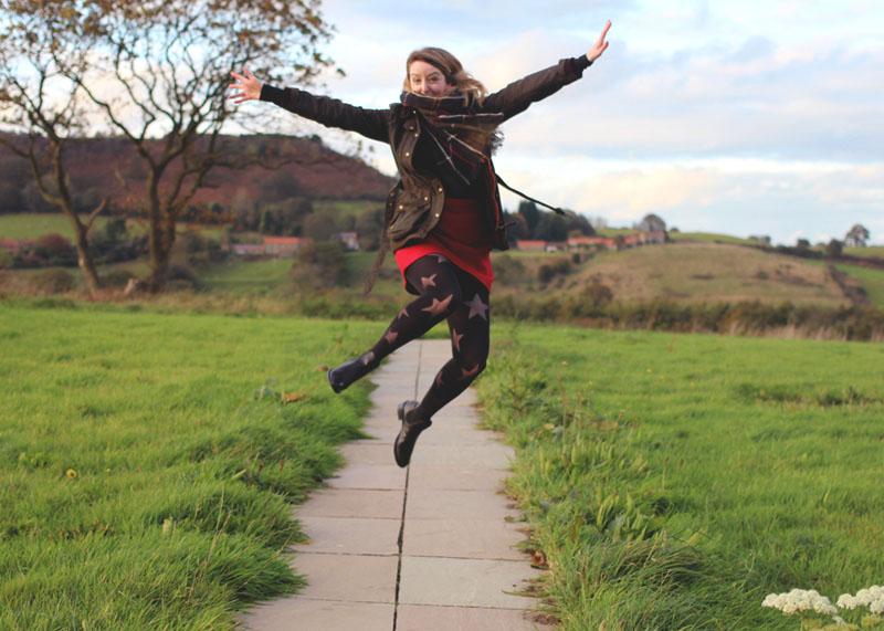 jumping photo yorkshire, Bumpkin Betty