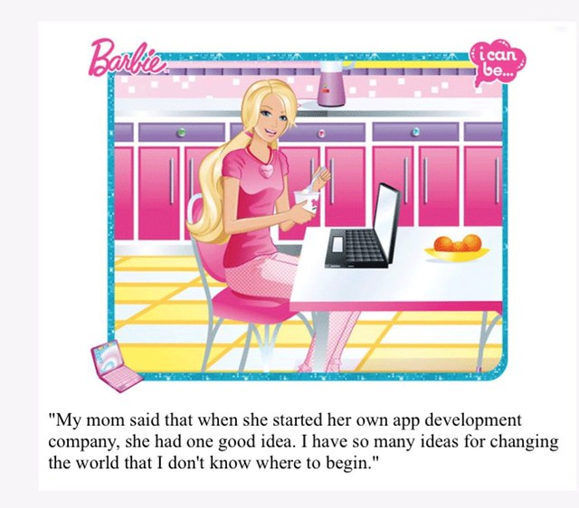 Hacker Barbie