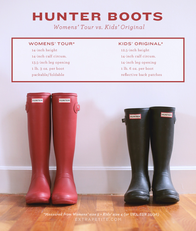 hunter rain boots for petites tour vs kids1