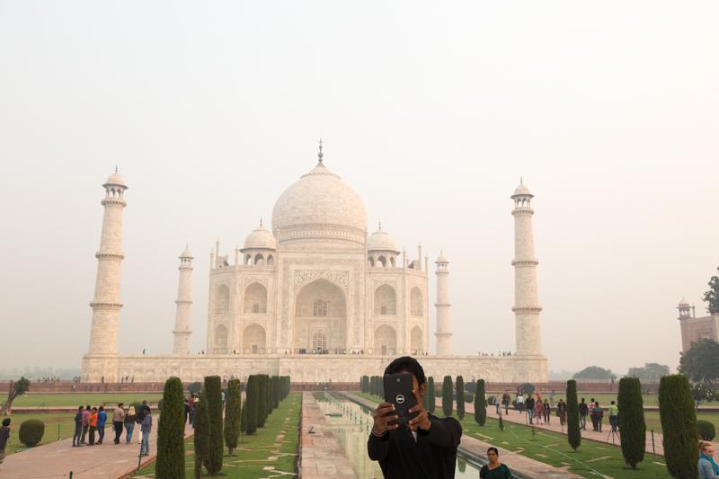 Selfie, Taj Mahal