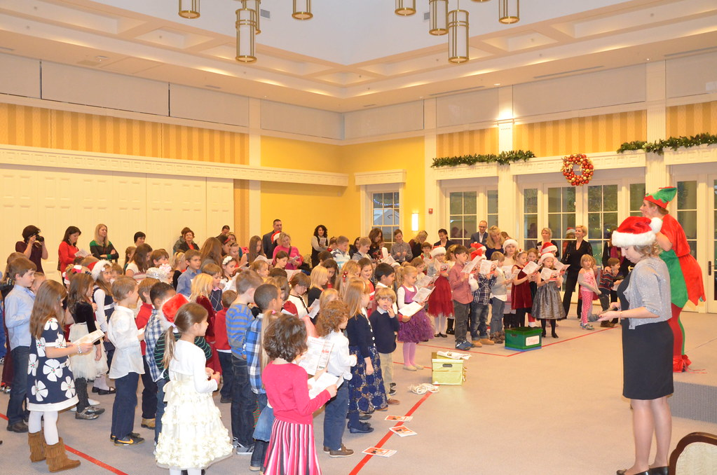 "<p>The show of ""Seeking Santa"" is about to begin!!!!<br /> <br /> <br /> Photo by the Courtesy of the Embassy of Poland</p>"