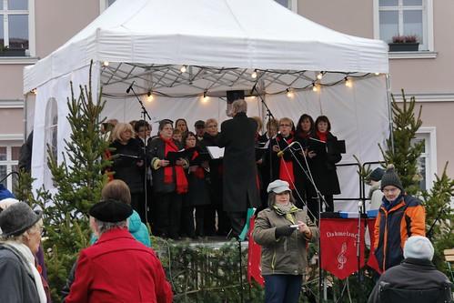 Dahmelandchor auf dem Weihnachtsmarkt