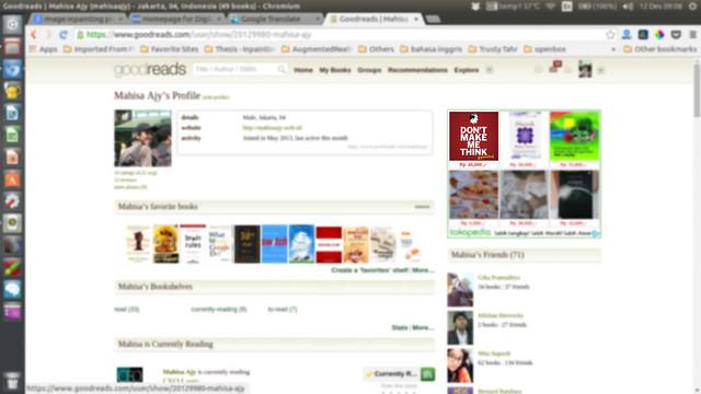 iklan di mana-mana (goodreads)