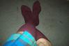 Maroon Socks1
