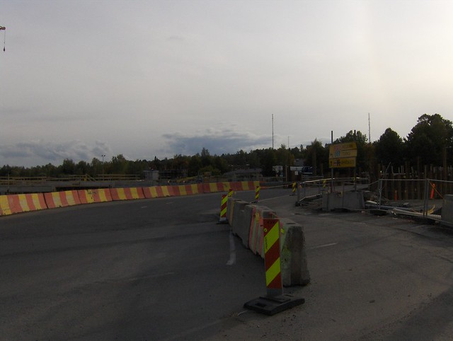 Hämeenlinnan moottoritiekate ja Goodman-kauppakeskus: Työmaatilanne 22.9.2012 - kuva 3