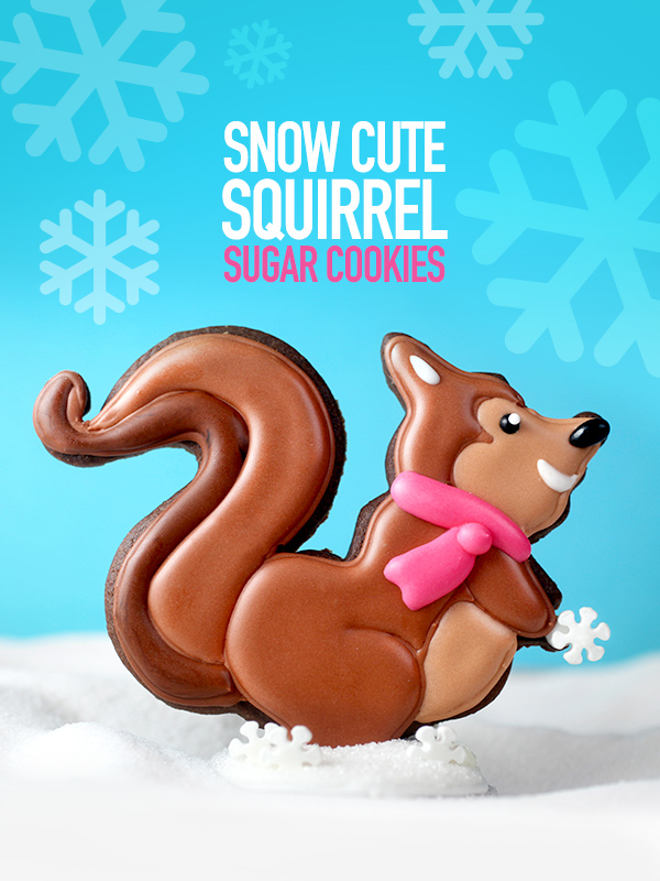Squirrel Sugar Cookies