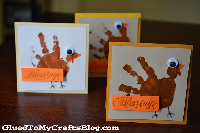 turkey hand print card