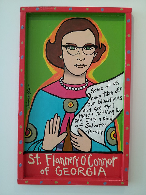 st. flannery o'connor of georgia at jepson cafe