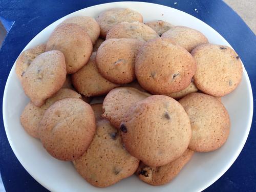 Cookies aux raisins