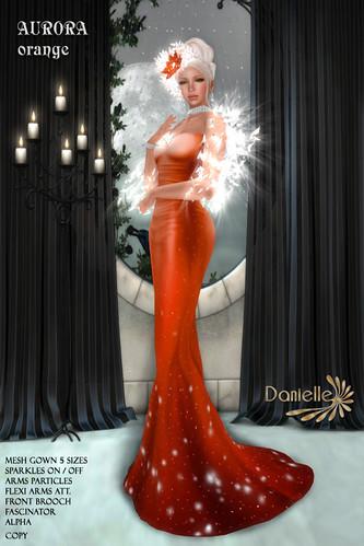 DANIELLE Aurora Orange